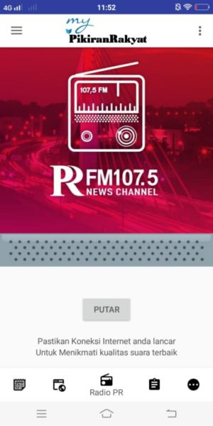 RADIO PRFM ONLINE